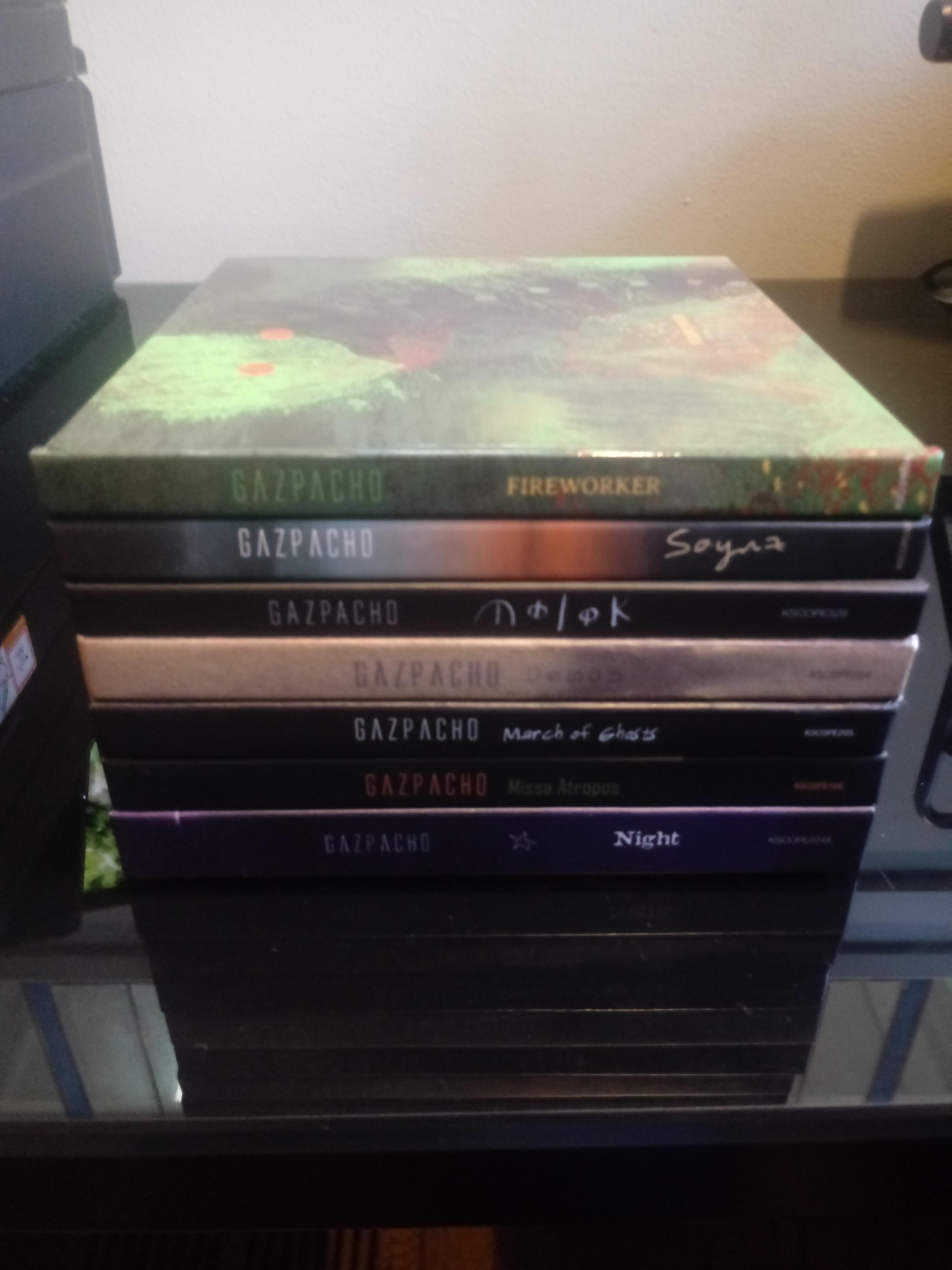 Gazpacho Discography